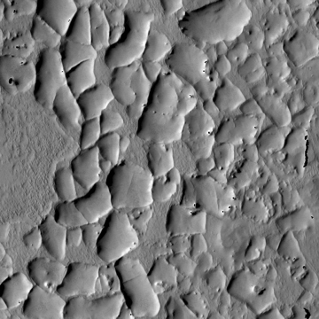 Mars Odyssey image of fractures near Syrtis Major