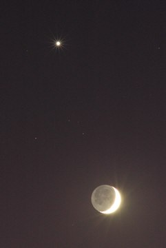 Moon - Venus conjunction