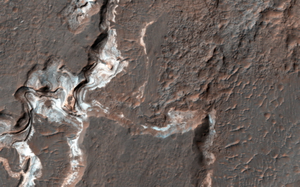 Mars rock layers