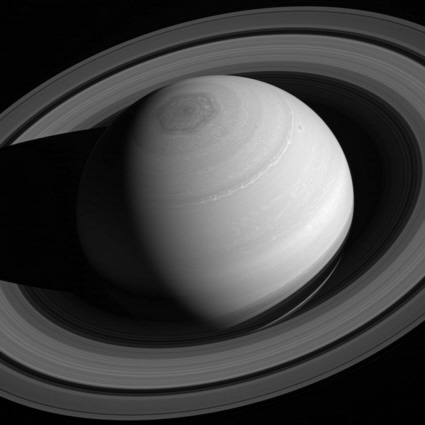 Cassini spacecraft image of Saturn