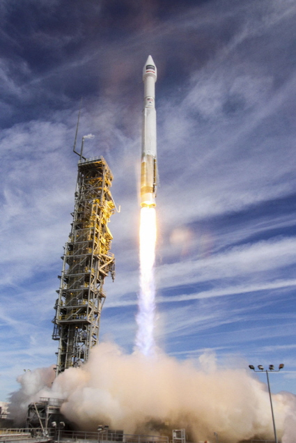 Atlas V/WorldView-4 Launch