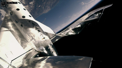 Virgin Galactic flight