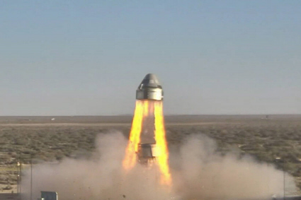 Starliner pad abort test