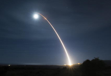 Minuteman II launch from Vandenberg AFB